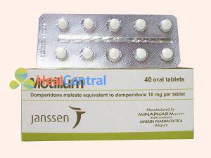 Thuốc Motilium thuộc nhóm thuốc điều trị bệnh về đường tiêu hóa