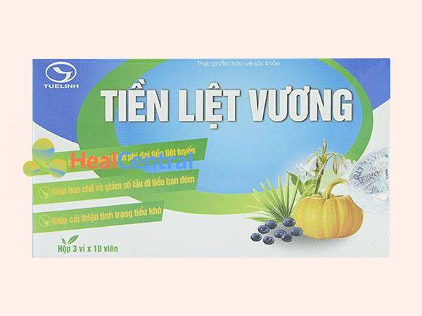 Tiền Liệt Vương hiện đang được bán tại các nhà thuốc trên toàn quốc