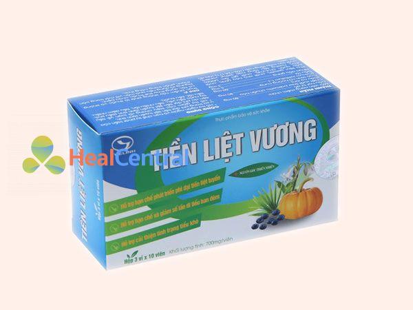 Thực phẩm chức năng hỗ trợ chữa tiền liệt tuyến: Tiền Liệt Vương