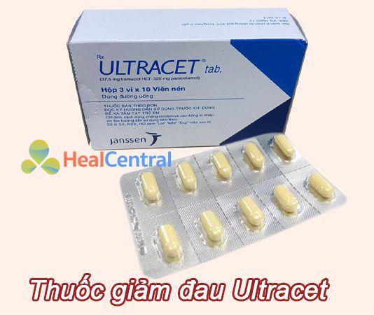 Hình ảnh thuốc giảm đau Ultracet