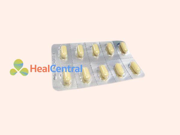 Hình ảnh thuốc giảm đau Ultracet dạng vỉ