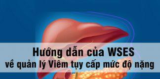 Hướng dẫn của WSES về quản lý Viêm tuỵ cấp mức độ nặng