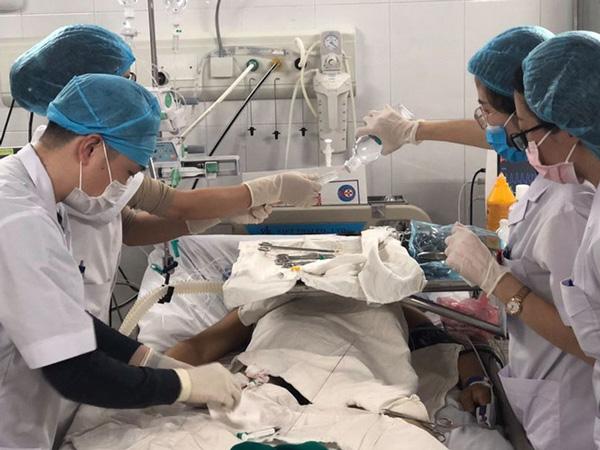 Hình ảnh Bệnh nhân Viêm tụy cấp mức độ nặng