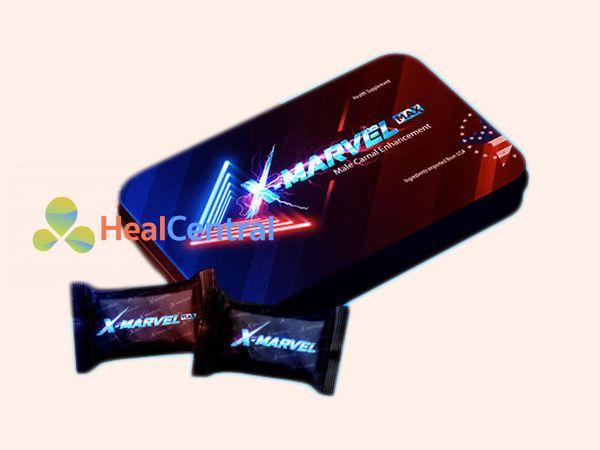 Hình ảnh Viên ngậm X-marvel được bán ở nhiều nơi