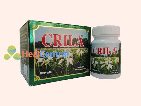 Thuốc Crila - điều trị u xơ tử cung