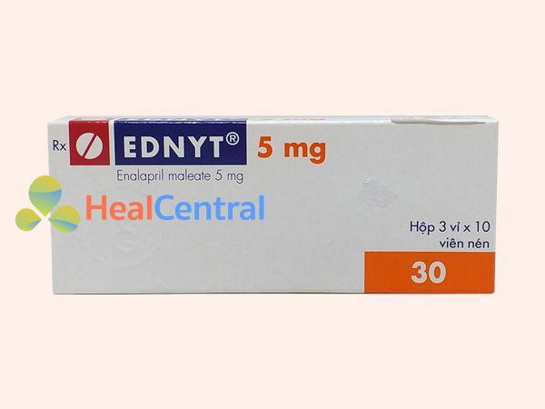 Thuốc Ednyt bào chế dưới dạng viên nén