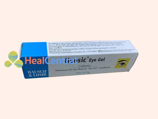 Hình ảnh hộp thuốc nhỏ mắt Liposic Eye Gel