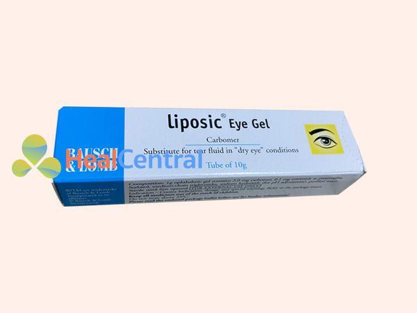 Mỗi tuýp Liposic Eye Gel có 10g