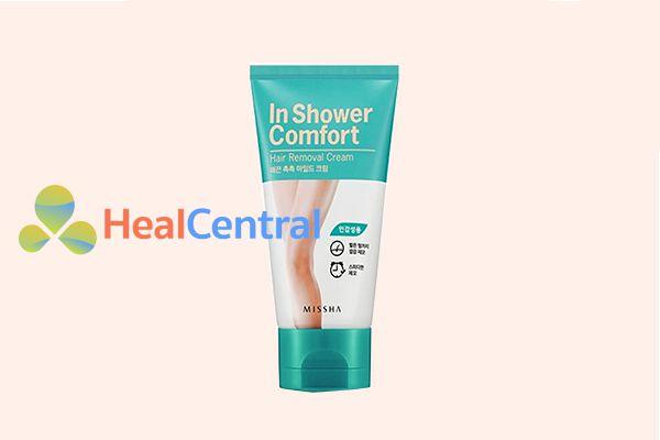 Kem tẩy lông vùng kín Missha In Shower Comfort Hair