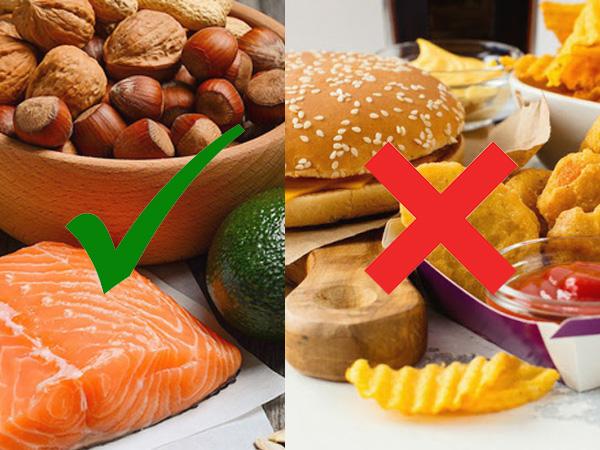 Các thực phẩm bệnh nhân sỏi mật nên ăn và kiêng ăn