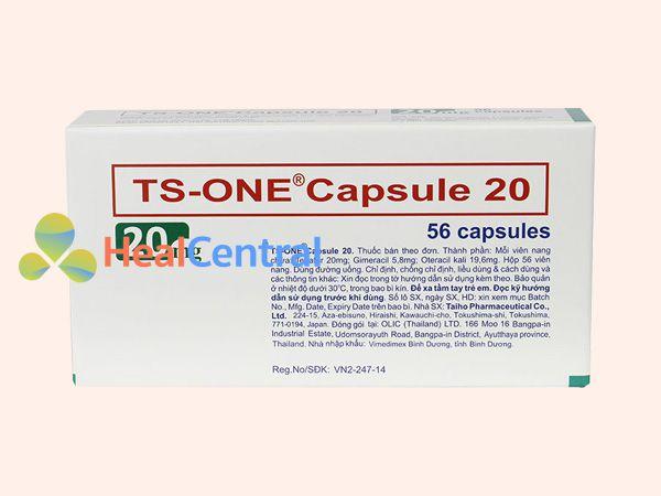 Hình ảnh hộp TS - One 20mg