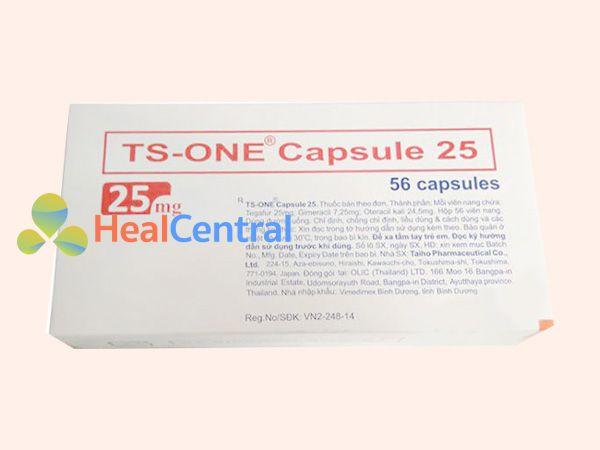 Hình ảnh hộp TS - One 25mg