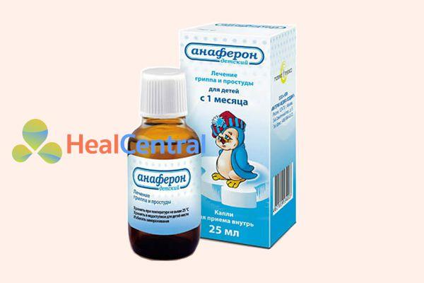 Siro tăng sức đề kháng Anaferon 25ml - Nga