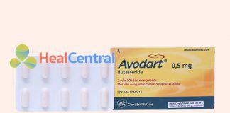 Thuốc Avodart 0.5mg
