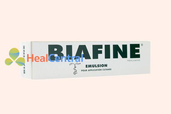 Hình ảnh: Hộp thuốc Biafine Emulsion