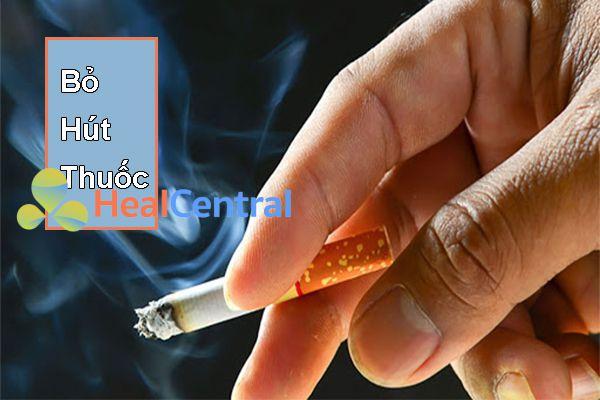 Bỏ thói quen hút thuốc lá và tránh xa khói thuốc
