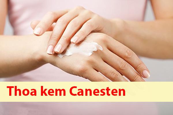 Cách sử dụng thuốc Canesten dạng bôi ngoài da