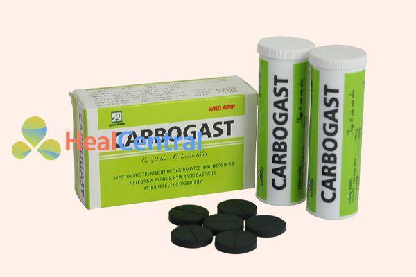 Thuốc Carbogast dùng để điều trị các bệnh về đường tiêu hóa