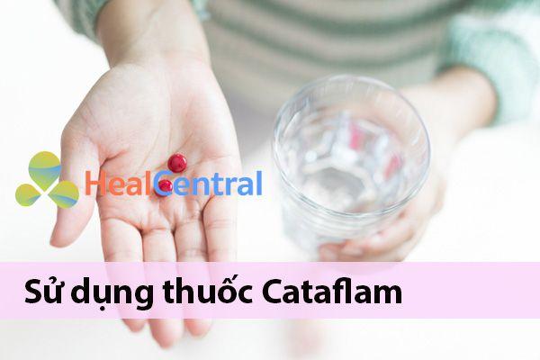 Cách sử dụng thuốc Cataflam