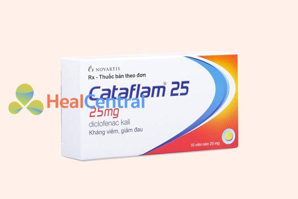 Hình ảnh: Hộp thuốc Cataflam 25mg
