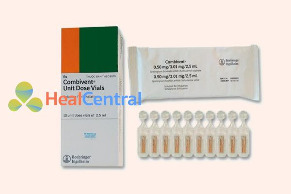 Thuốc điều trị bệnh hen - Combivent
