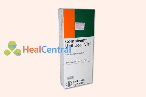 Hình ảnh: Hộp thuốc Combivent 20 ống x 2.5ml