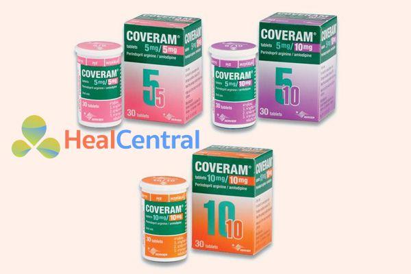 Thận trọng khi phốu hợp Coveram vớikhi phối hợp với các thuốc ức chế miễn dịch thuốc chống thải ghép như cyclosporin