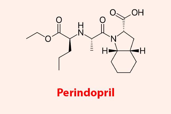 Công thức hóa học của Perindopril