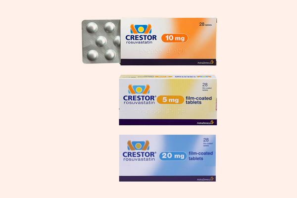 Thuốc trị tăng lipid máu Crestor