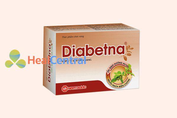 Diabetna hộp 4 vỉ x 10 viên nang