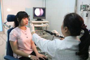 Chẩn đoán viêm mũi xoang mạn có Polyp mũi