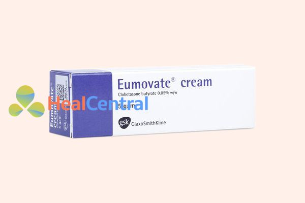 Hình ảnh: Hộp thuốc Thuốc Eumovate Cream