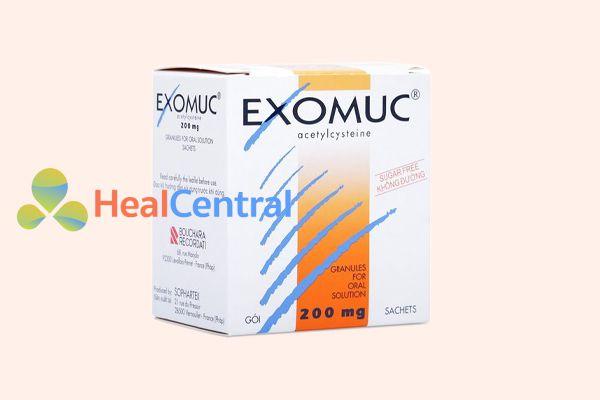 Hình ảnh: Hộp thuốc Thuốc long đờm Exomuc