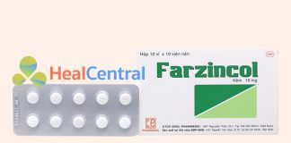 Thuốc Farzincol 10mg