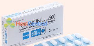Hình ảnh thuốc Fosmicin