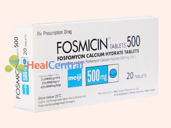 Thuốc Fosmicin được sử dụng trong các trường hợp nhiễm khuẩn