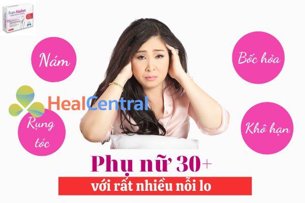 Rối loạn nội tiết tố nữ sẽ kéo theo biến đổi ở cả làn da, vóc dáng và sức khỏe sinh lý