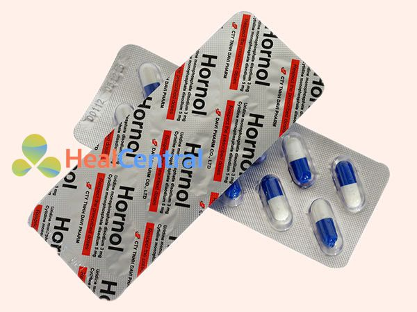 Hình ảnh thuốc Hornol dạng vỉ