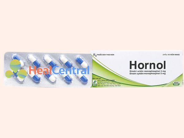 Hình ảnh thuốc Hornol mặt trước