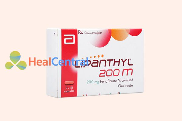 Thuốc Lipanthyl 200M