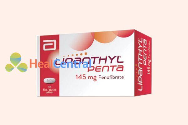 Thuốc Lipanthyl Penta 145 mg