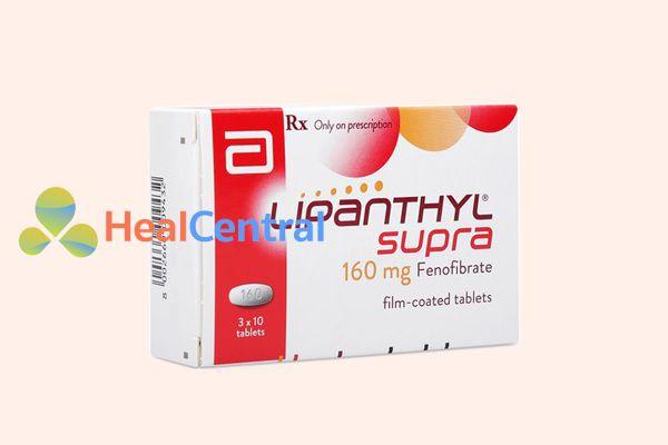 Thuốc Lipanthyl Supra 160mg
