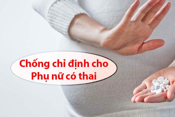 Marvelon được chống chỉ định dùng cho phụ nữ có thai