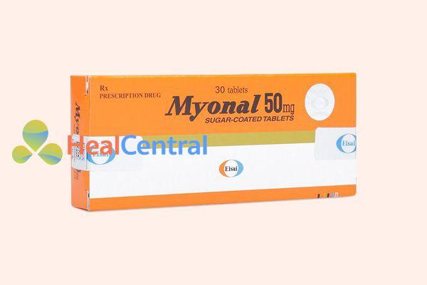 Hộp thuốc Myonal 50mg