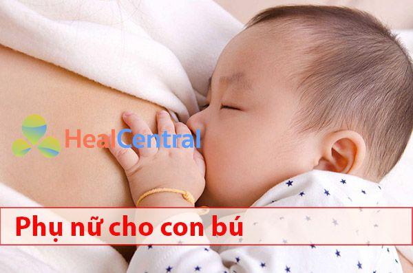 Ảnh hưởng của thuốc Myonal 50mg đến phụ nữ đang cho con bú