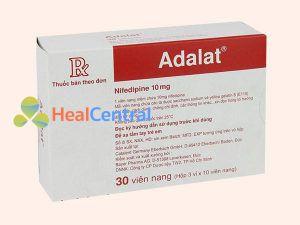 Adalat - Thuốc hạ huyết áp theo cơ chế chẹn kênh Calci