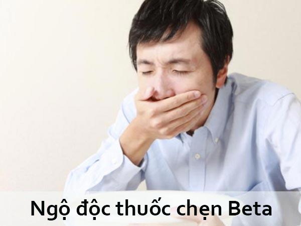 Ngộ độc thuốc chẹn Beta