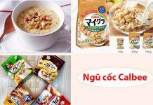 Ngũ cốc Calbee được sản xuất trên dây chuyền Nhật Bản