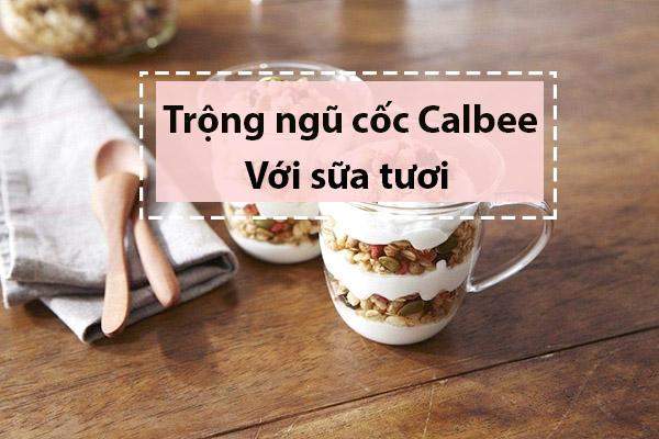 Cách sử dụng Ngũ cốc Calbee