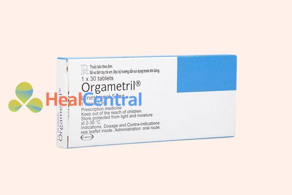 Thuốc Orgametril có tác dụng điều hòa kinh nguyệt và điều hòa nội tiết tố ở phụ nữ.